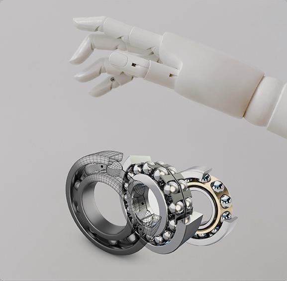 Deep groove ball bearing, needle bearing, auto bearing