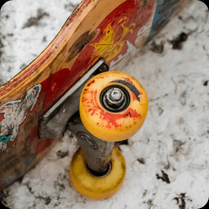 skateboard bearing, 608 bearing, deep groove ball bearing